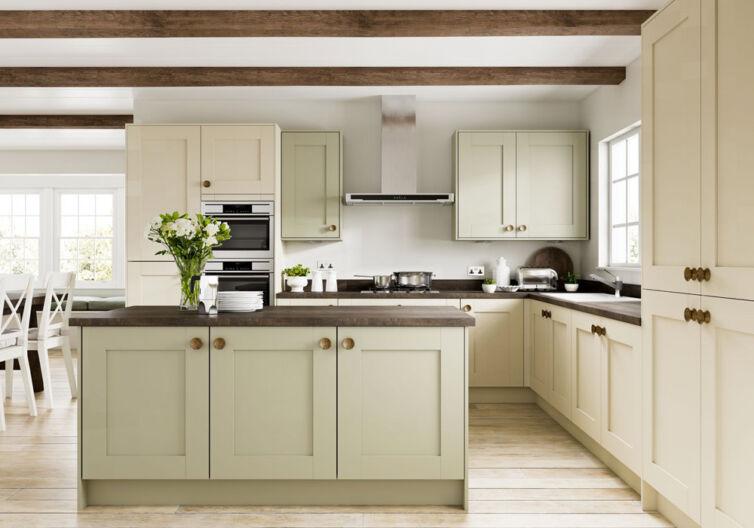 shaker bespoke kitchen design west yorkshire